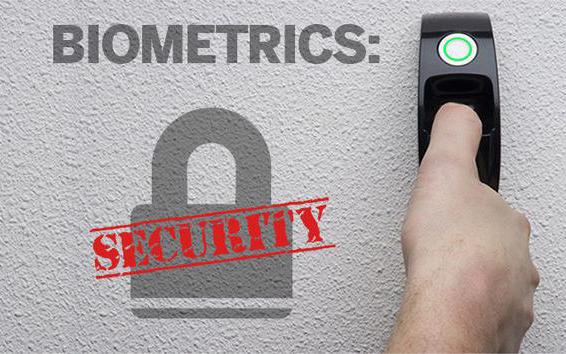 Биометрични данни - Сигурност