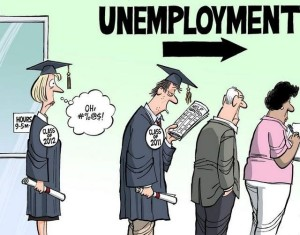 Безработица студент